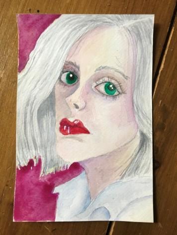 watercolour portrait 6