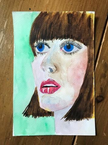 watercolour portrait 7