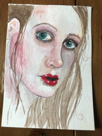 watercolour portrait 8