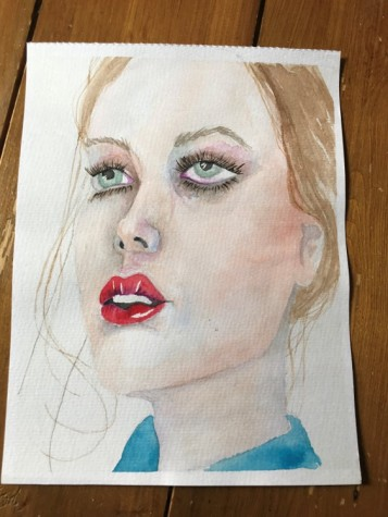 watercolour portrait 9