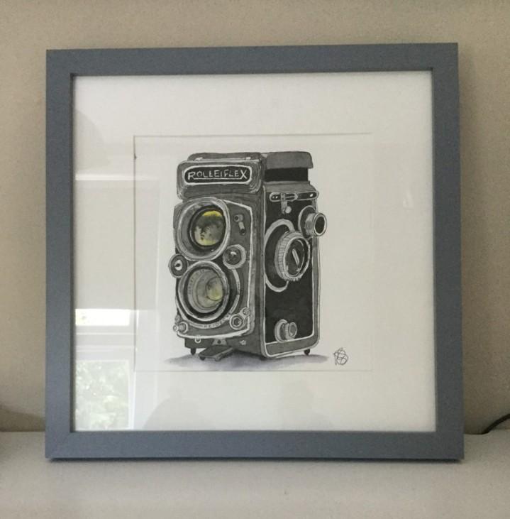 Framed-camera-print