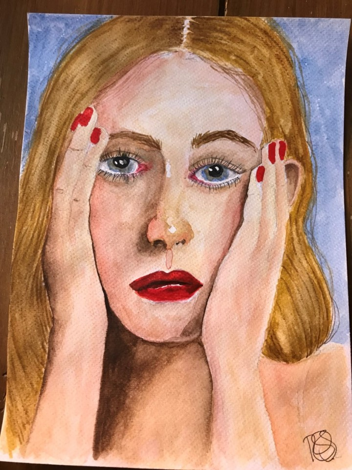 portrait of a girl 4