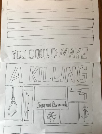 book cover layout