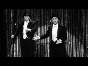 Peter Boyle and Gene Wilder Putting on the Ritz