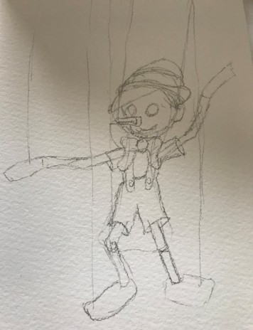 Pinocchio sketch