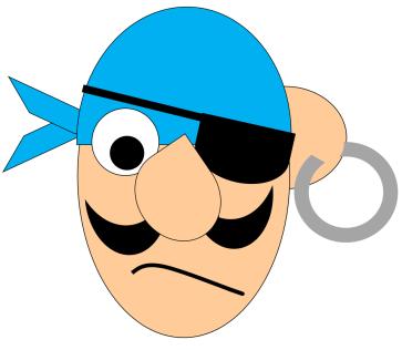 pirate head printable 2
