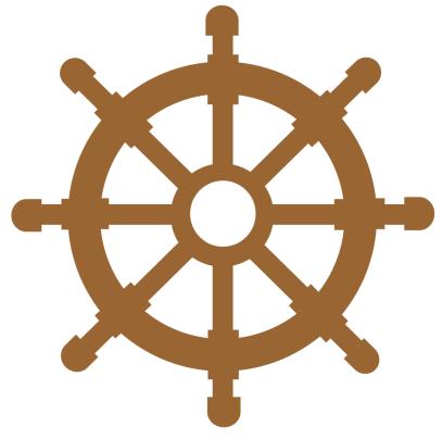 Ships wheel printable