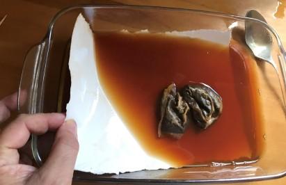 tea staining paper