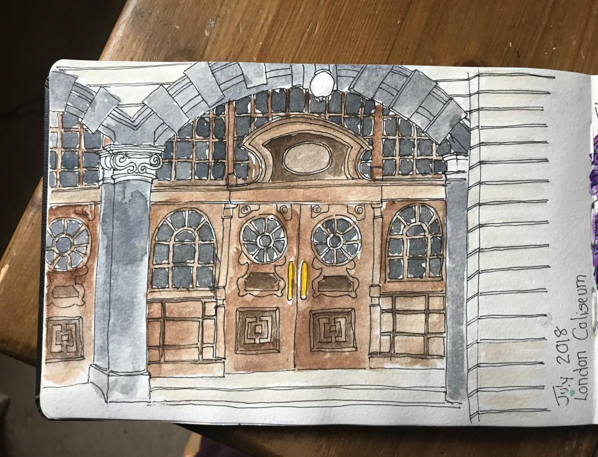 London Doodle