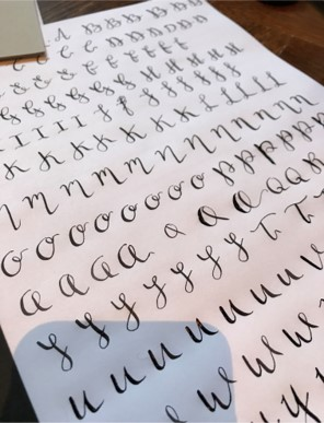 calligraphy first attempts2