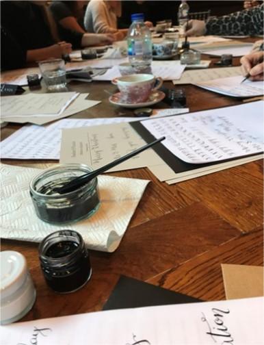 Calligraphy workshop3
