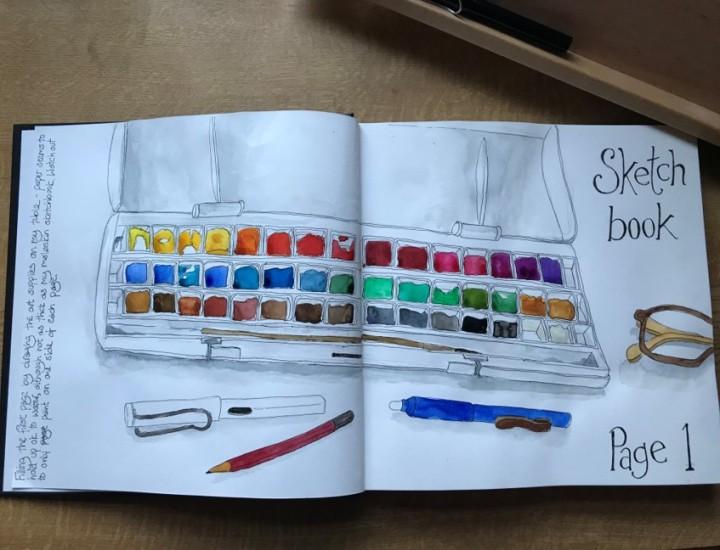 sketchbook start