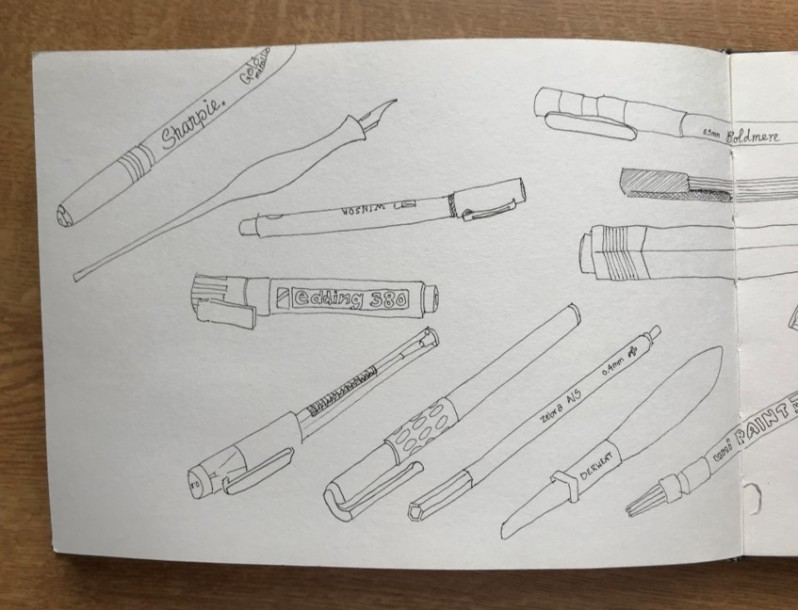 collection of pens2