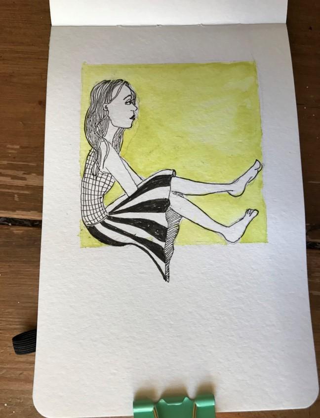 mini sketch 14
