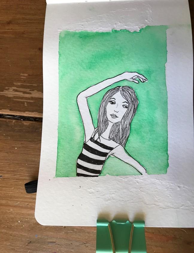mini sketch 18