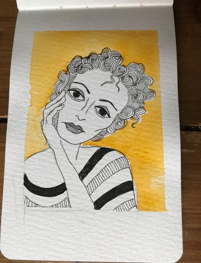 mini sketch 23