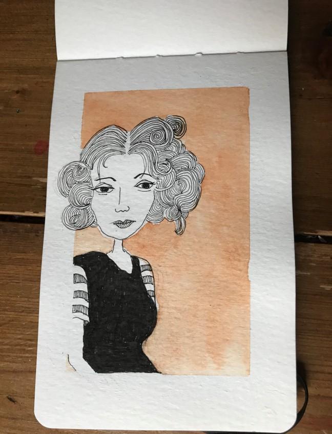 mini sketch 25
