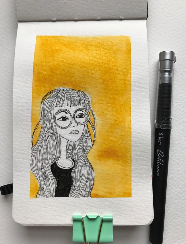 mini sketch 8
