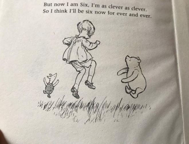 now i am six