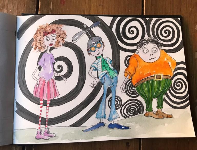 burtonlike-illustrations
