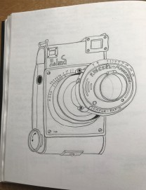 camera line drawing2