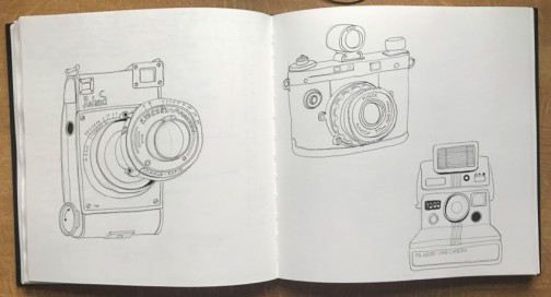camera line drawing3