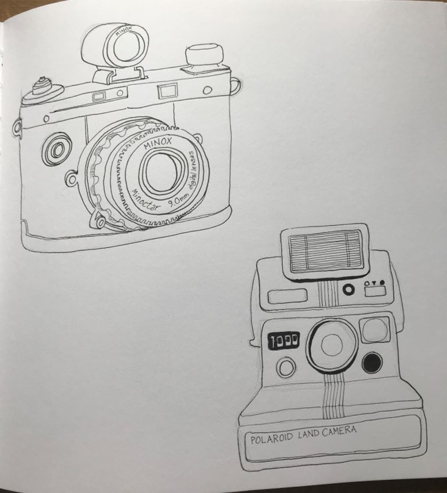 camera line drawing4