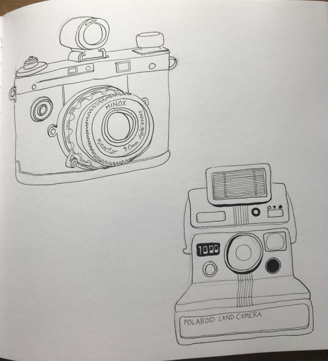 camera line drawing4