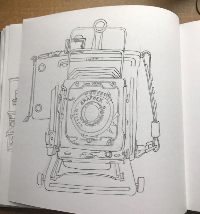 camera line drawing5