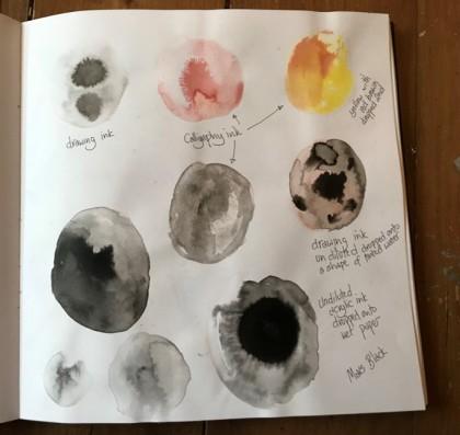 ink pebbles