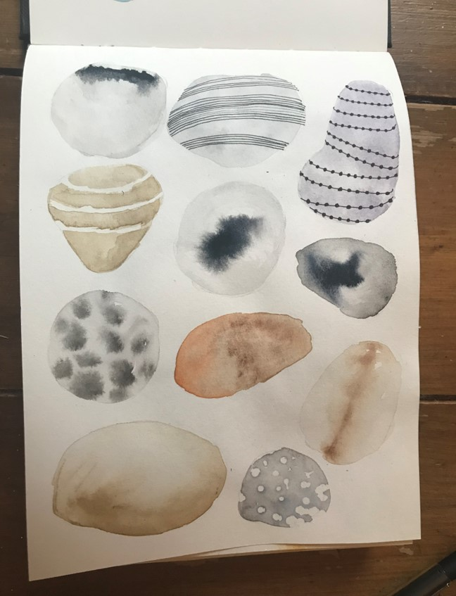 pebbles sketch