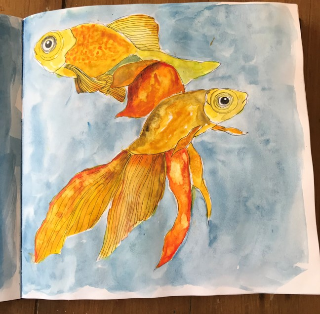 goldfish pair