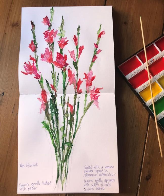 watercolour-flowers