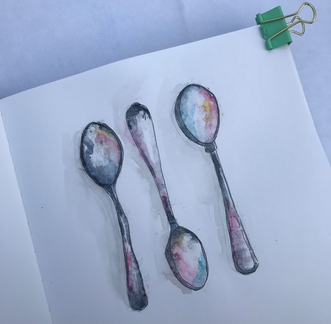 spoons-watercolour