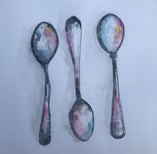 spoons-painting