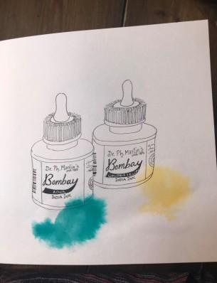 bombay ink
