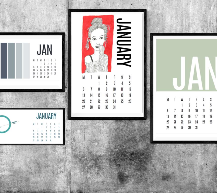 2020-calendars