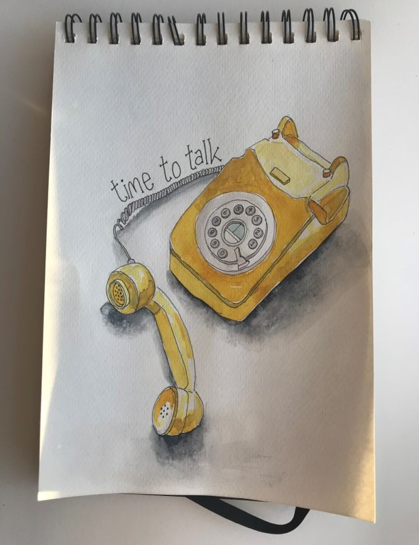 telephone-illustration