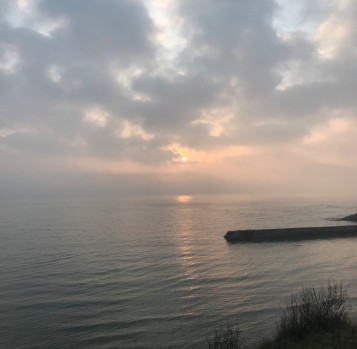sunrise March 2020