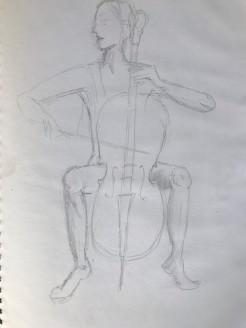 BBC Life drawing class week 1d