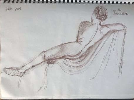 BBC Life drawing class week 1e