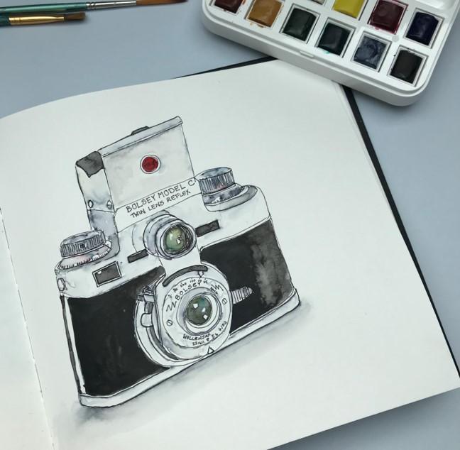 vintage-camera-sketch
