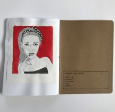 Brooklyn Sketchbook Project spread 1