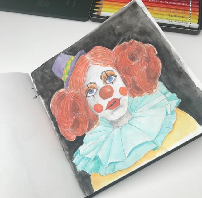 clown-sketch