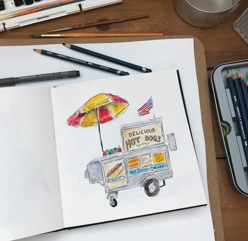 new-york-hot-dog-stand